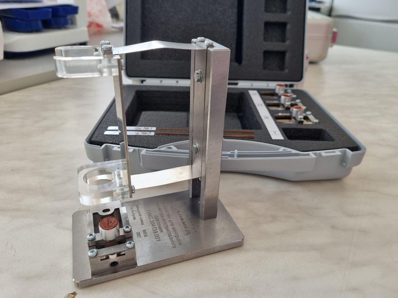 В ЦСМ появилось новое оборудование для поверки мер внутриглазного давления